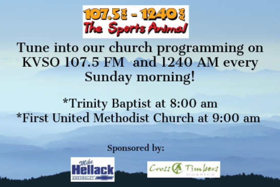 Church Programming on KVSO-FM and KVSO-AM