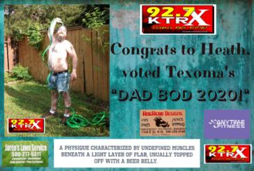 CONGRATS TO HEATH, TEXOMA'S DAD BOD 2020!
