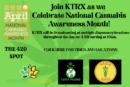 KTRX Celebrates National Cannabis Awareness Month