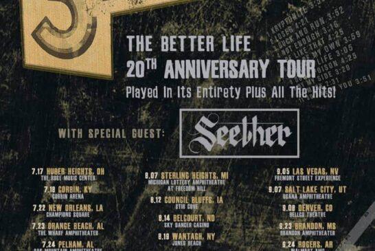 KTRX 3 Doors Down & Seether Ticket Pre-Sale!