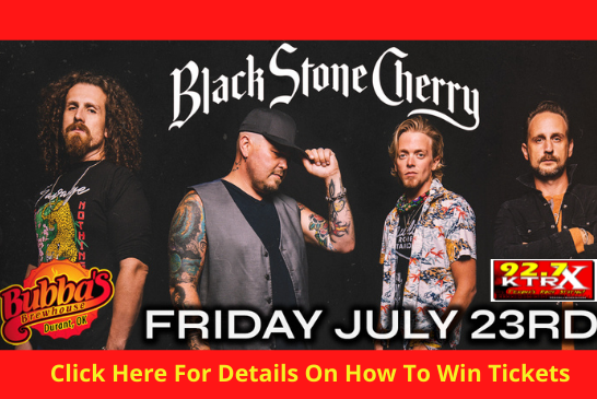 Win Tickets to Black Stone Cherry!