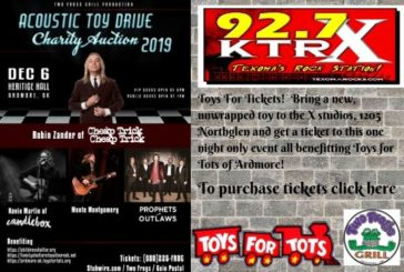 92-7 The X's Toys For Tickets
